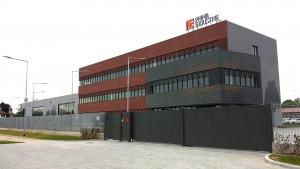 Il nuovo 'Headquarters & Technology Center' di Prima Industrie in via Torino-Pianezza a Collegno.