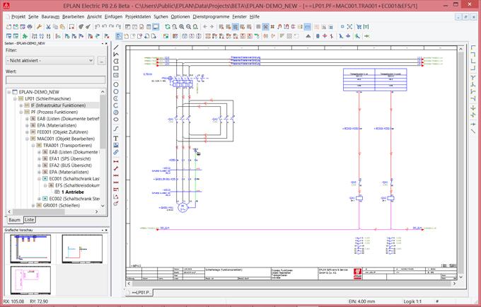Terminal design optimized in Eplan 2 6 - Meccanica Plus