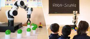 robot didattici Comau Robo-Scuola