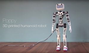 robot umanoide Dassault Systèmes Poppy Humanoid