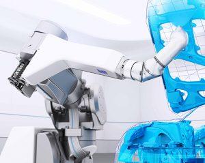 verniciatura a 7 assi robot Dürr