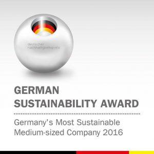 sostenibilità lubrificanti Fuchs award 2016