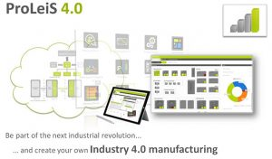 controllo di produzione Tebis Proleis Industria 4.0