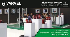 flange quadre Varvel Hannover Messe 2017