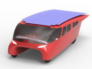 auto elettrica solare SCM Group Onda Solare