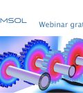 modellare ingranaggi webinar Comsol