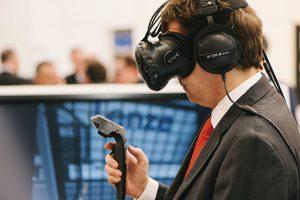 realtà virtuale progettazione Lenze