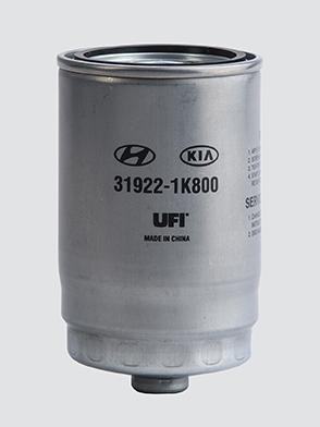 filtrazione gasolio UFI Filters Hyundai Kia