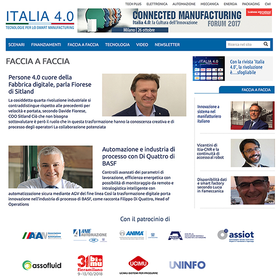 Tavole Rotonde Connected Manufacturing Forum