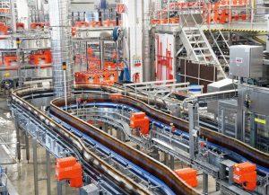 lubrificazione SKF birrificio