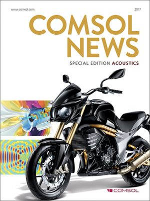 acustica computazionale Comsol News 2017