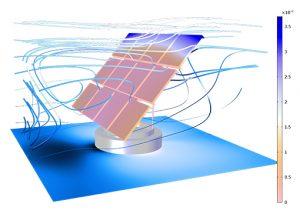 simulazione fluidodinamica webinar CFD Comsol