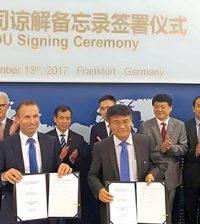 mobilità elettrica ZF joint venture BAIC Cina