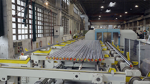 alimentatori barre Steel Motion rettificatrici Monzesi