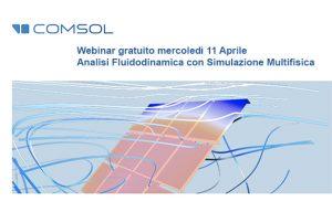 simulazione fluidodinamica Comsol webinar gratuito