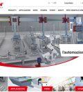 movimentazione lineare Rollon nuovo sito web