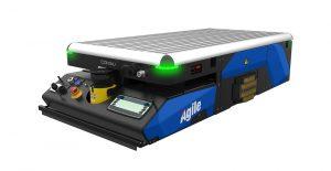 logistica automatizzata Agile AGV Comau