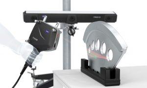 scansione laser lavorazione metallo QFP