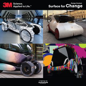3M car wrapping Surface for Change