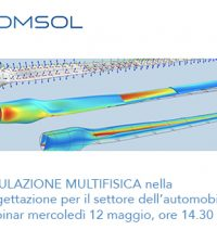 Comsol webinar simulazione automotive