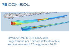 Comsol webinar simulazione automotive