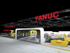 Fanuc fabbrica del futuro EMO 2021 booth stand