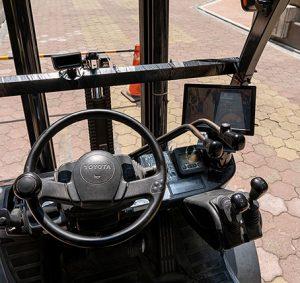 VIA rilevazione affaticamento operatore carrelli elevatori